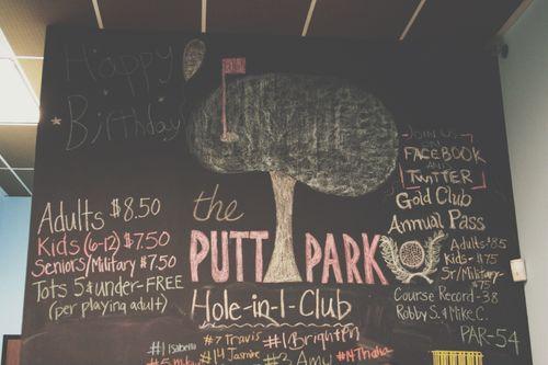 Putt park 13